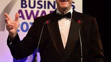 Sir Ranulph Fiennes, the key note speaker at the EDP Business Awards 2015. Picture: DENISE BRADLEY
