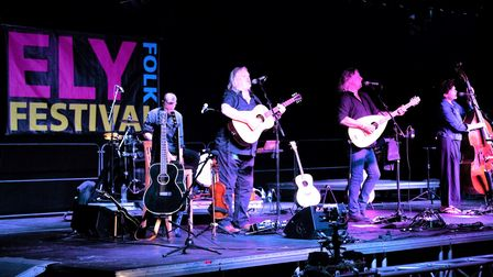 Show of Hands closed Ely Folk Festival 2021 with a performance of old favourites and newly penned numbers.