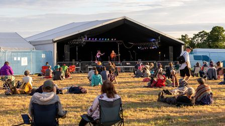 The Carivick Sisters at Ely Folk Festival 2021