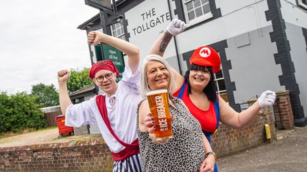 Locals are being encouraged to help with the transportation of a pint of Ice Breaker from Bury St Edmunds to Newcastle