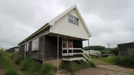 The former Alphacraft Boatyard on Reeds Lane in St. Olaves is due to be soldat an online auction on July 28.