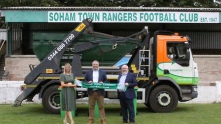 Soham Town Rangers FC have announced Countrystyle Recycling sponsor for 2021-22 season