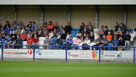 Fans at Bury Town