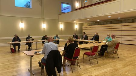 Dereham Town Council hold their July 2021 meeting