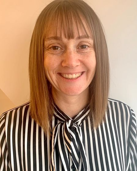 Hannah Harvey, executive director of operations at Saffron Housing, which runs Clare House