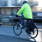 A person cycling down a cannal walkway Picture: GETTY IMAGES