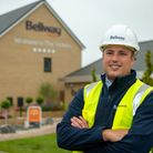 Bellway's Tom Taylor, site manager at The Vickers has secured this year's NHBC Pride in the Job award.