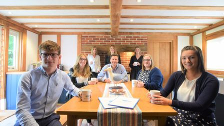 Best of Suffolk's staff at their Badingham headquarters in July 2021
