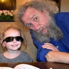 Pete Green, pictured with one of his grandchildren.