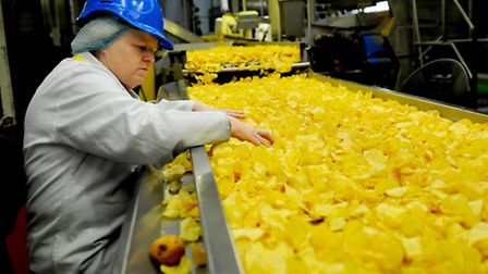 Factory worker at Kettle Foods in Bowthorpe. Picture submitted.