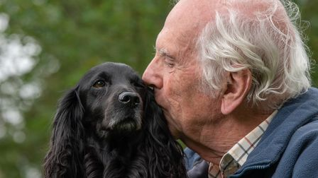 Peter Randell has been reunited with his 11 year old dog Bramble, after his car was stolen from Colc