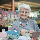 Margaret Seamanhas knitted together a woolly recreation of Sandringham Estate.