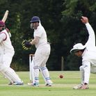 March Town in action versus Cambridge 2nds