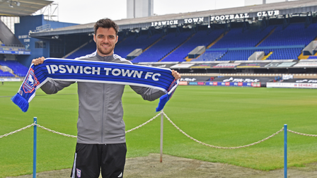 Scott Fraser has signed a three-year deal at Ipswich Town. Photo: ITFC