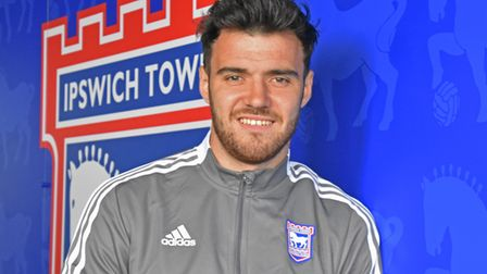 Scott Fraser says he wants to be 'one of the main men' at Ipswich Town. Photo: ITFC