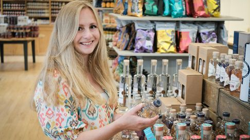Becky Smith - food buyer at Snape Maltings