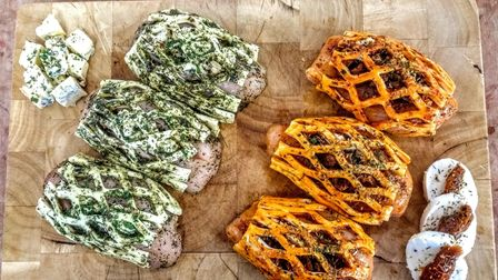 Hollow Trees Farm's extensive pop-in-the-oven meat dishes