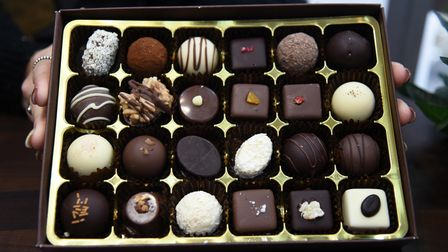 Marimba's chocolates are made in Bury St Edmunds, around two miles from the new shop in the town cen