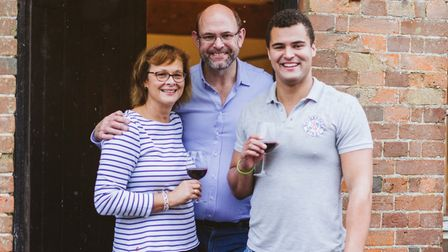 The team at Nethergate Wines in Long Melford