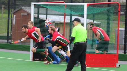 Defender Mitch Smith scored twice for Norwich Dragons. Picture: SUBMITTED