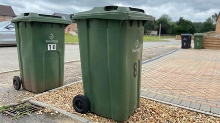 There have been delays to green bin collections in Breckland this week