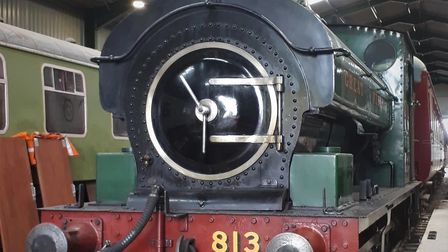 This Edwardian steamengine will be running on Mid-Norfolk Railway tracks this summer.