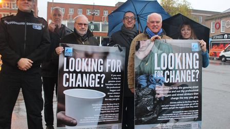 The launch of the Looking for Change campaign.