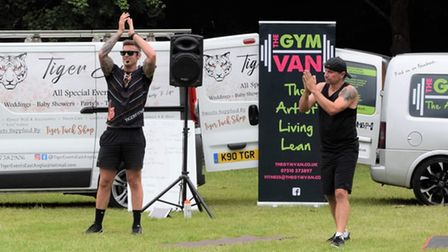 Outdoor fitness event in memory of John Taylor in Thetford