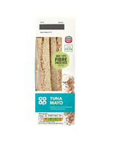 Co-op tuna mayo sandwiches have been recalled.