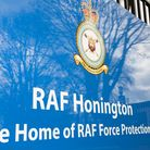 There will be increased activity over RAF Honington next week