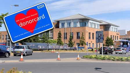 The Norfolk and Norwich University Hospital was ranked as one of the top 20 hospitals for organ donation in 2020.
