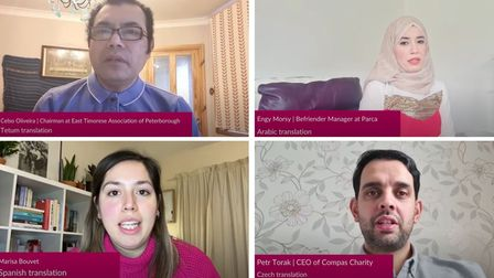 The new video blogs are released in a number of languages to help peopleunderstand about the national changes.