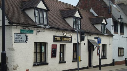 The Crown Inn is one of the pubs keeping its Covid-19 measures past July 19.