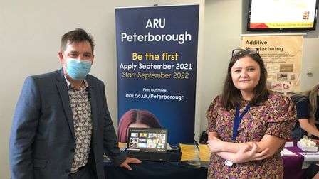 Dr Nik Johnson, Mayor of Cambridgeshire and Peterborough, attended the event to learn more about opportunities