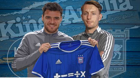 The Kings of Anglia podcast team discussed the arrivals of Scott Fraser, left, and Joe Pigott, right, plus the new away kit