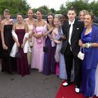 The youngsters arrive at the St Albans High School Prom in the Limo. CHLOE CAHILLANE ST ALBAN HIGH