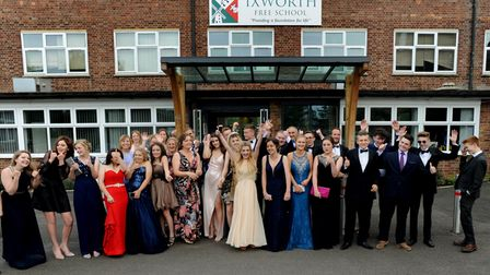 The Ixworth Free School Prom PICTURE ANDY ABBOTT