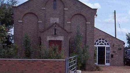 The Baptist Chapel at Chittering where Wyatt ministered