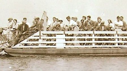 For many years children from Waterbeach Fen used the Upwareferry to cross the river on their way to school.