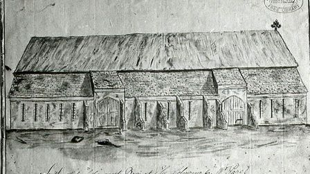 Ely Tithe Barn:To Be Sold by Auction by Elliot Smith & Son, 1842