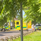 Emergency crews were spotted in The Avenues, at the junction with Colman Road in Norwich, on Saturday morning.