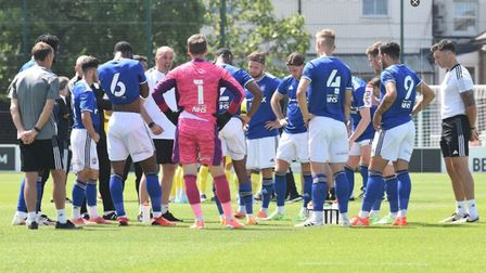 Ipswich Town played a pre-season friendly at Fulham