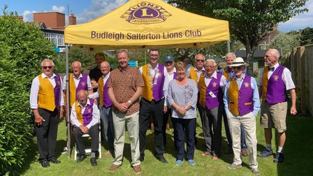 Budleigh Lions induct two new members
