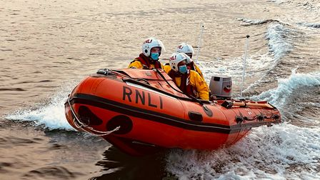 Exmouth inshore lifeboat