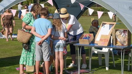 People out enjoying the Bearstival in Brisley which was put on in aid of EACH. Picture: Danielle Boo