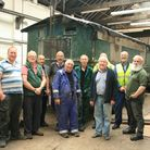 The Leiston Long Shop Museum volunteer restoration and conservation team