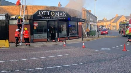 Fire breaks out at Ottoman kebab shop in Whittlesey