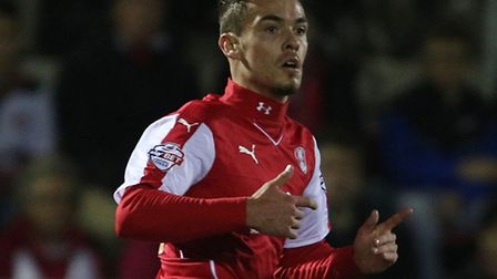 Norwich City youngster Harry Toffolo has extended his loan spell at Rotherham. Picture: Richard Sell