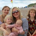 Blogger Ruth Davies and her family