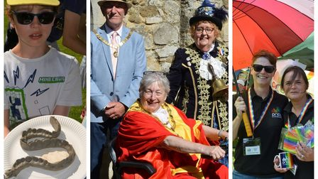 Visitors at Ely's Eel Fayre travelled from near and far, after the event was cancelled last year.